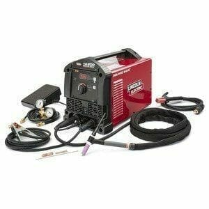 Square Wave TIG 200 Welder from LE