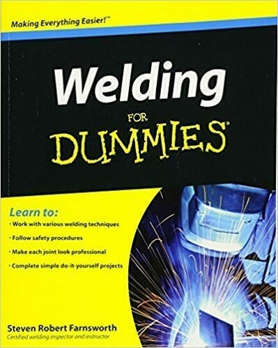 black and yellow welding for dummies cover