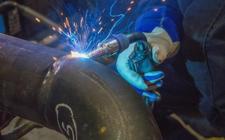 Welding Pipes At Home