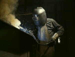 butt weld is a type of welding joint, which is a point where two or more pieces of metal are joined together